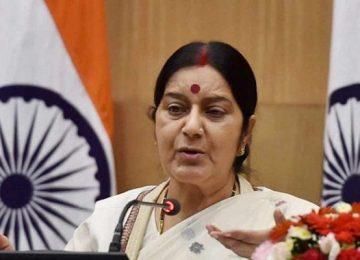 सुषमा स्वराज ने इमरान के मंत्री को दी नसीहत