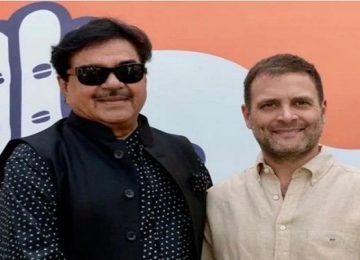 राहुल गांधी से मुलाकात