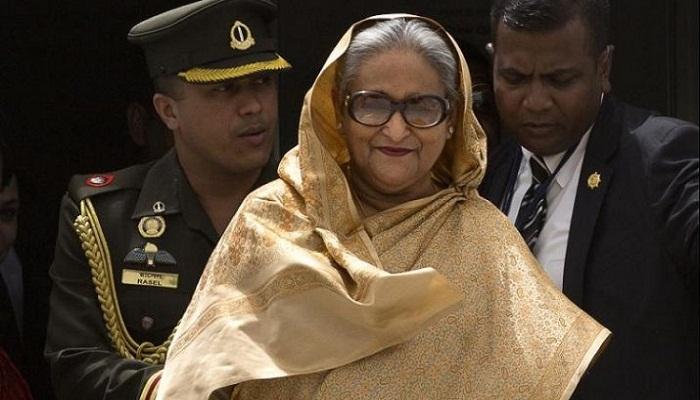 बांग्लादेश की पीएम शेख हसीना