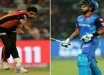 दिल्ली-हैदराबाद का मैच आज,
