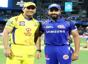 IPL मुंबई-चेन्नई का मैच