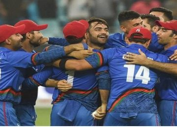 अफगानिस्तान टीम का एलान
