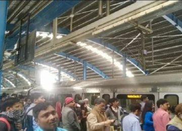 एएसआई ने मेट्रो के आगे कूदकर की आत्महत्या