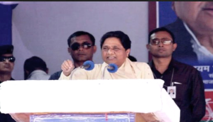 बिजनौर रैली