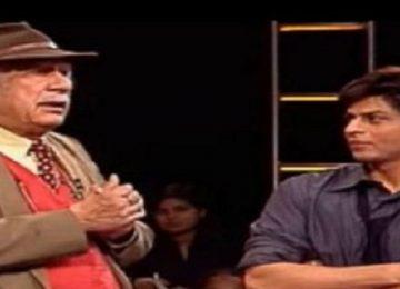 शाहरुख खान ने कर्नल राज कपूर को दी श्रद्धांजलि
