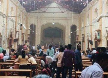 श्रीलंका बम विस्फोटों