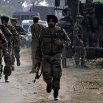 Terrorists opened fire on the security forces