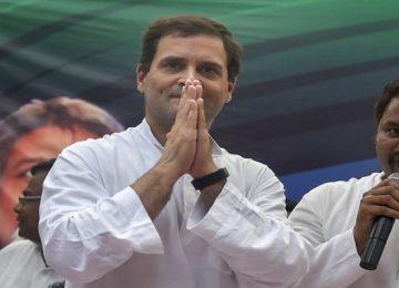 राहुल करेंगे यूपी में तीन रैलियां