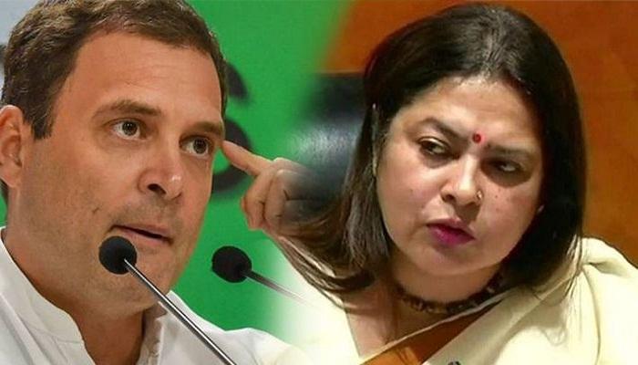 मीनाक्षी लेखी ने राहुल गांधी के खिलाफ