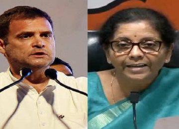 भाजपा का कांग्रेस पर पलटवार