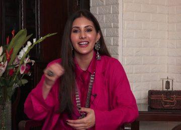 अमायरा दस्तूर ने फिल्म प्रस्थानम पर दिया विशेष साक्षात्कार