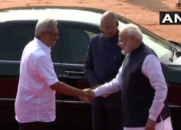 श्रीलंका के राष्ट्रपति गोटबाया राजपक्षे