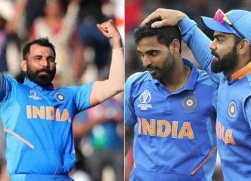 टीम इंडिया का एलान