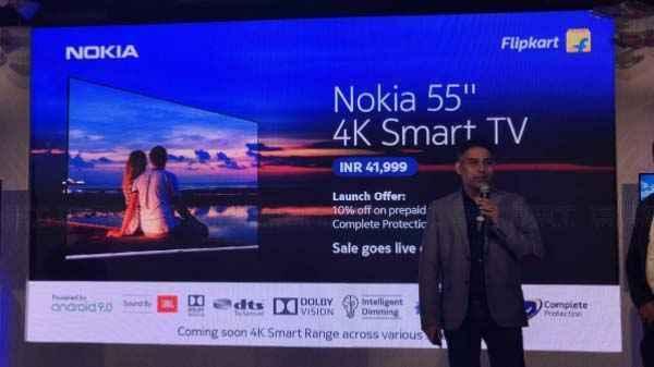 Nokia का आया 55 इंच का 4K स्मार्ट टीवी
