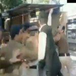 नाबालिग लड़की से बलात्कार आरोपी की पिटाई