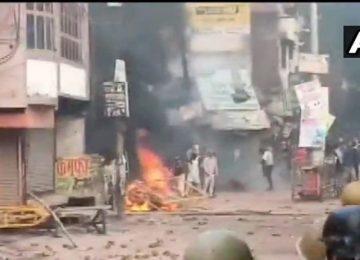 रामपुर में एक प्रदर्शनकारी की मौत