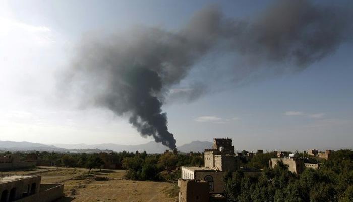 यमन में मस्जिद पर मिसाइल और ड्रोन से हमला