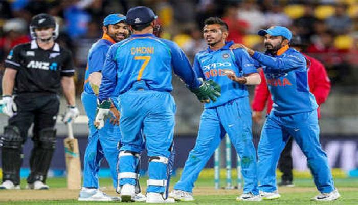 टीम इंडिया ने न्यूजीलैंड को दी मात