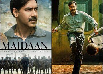 फिल्म 'मैदान' का पोस्टर रिलीज