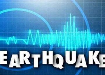 भूकंप के झटके