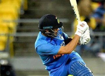 न्यूजीलैंड को मिला 166 रन का लक्ष्य