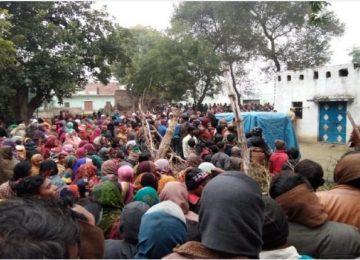 प्रयागराज में पांच लोगों की हत्या