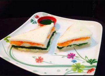 तिरंगा सैंडविच
