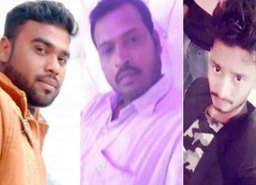 लखनऊ-कानपुर हाईवे पर सड़क हादसे में तीन दोस्तों की मौत