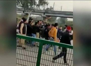 शाहीन बाग में फिर एक शख्स ने चलाई गोली