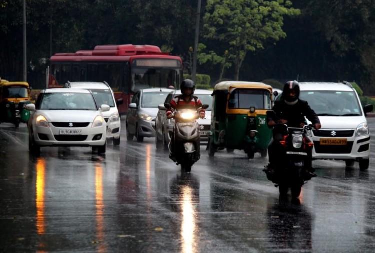 दिल्ली-एनसीआर में भारी बारिश