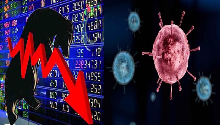 शेयर बाजार पर कोरोना का कहर
