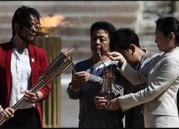 ग्रीस ने टोक्यो को सौंपी ओलंपिक मशाल
