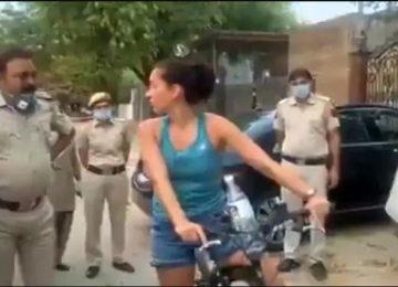 महिला राजनयिक ने किया लॉकडाउन का उल्लंघन