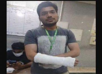AIIMS के जूनियर डॉक्टर्स ने पुलिस पर लगाया पिटाई का आरोप