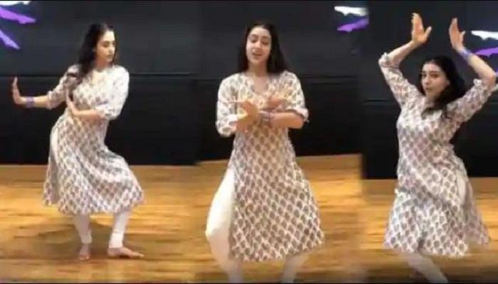सारा अली खान का डांस वीडियो