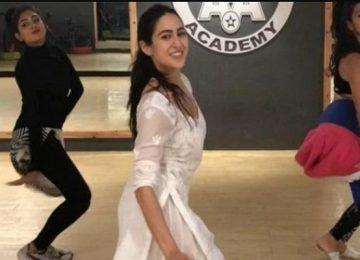 सारा अली खान का क्लासिकल डांस
