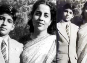 अमिताभ बच्चन ने 'मदर्स डे' पर शेयर की मां की फोटो