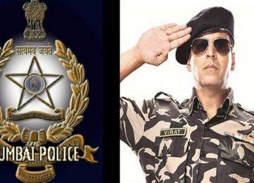 अक्षय कुमार ने मुंबई पुलिस को किया सैल्यूट