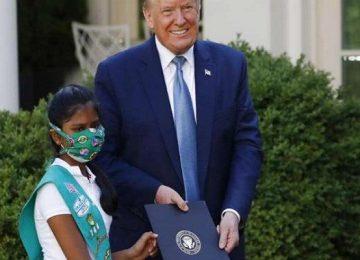 भारतीय मूल की बच्ची का अमेरिका में डंका