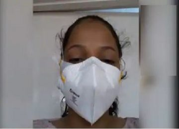 कोरोना पॉज़िटिव नर्स