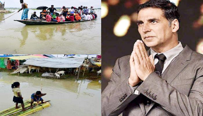 Akshay Kumar donated Rs 1 crore for flood victims