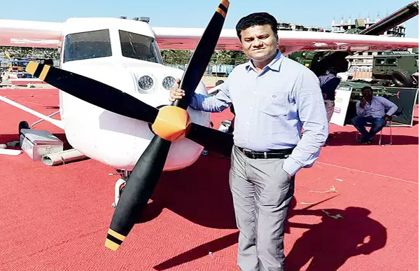 Captain Amol Yadav developing rooftop aircraft