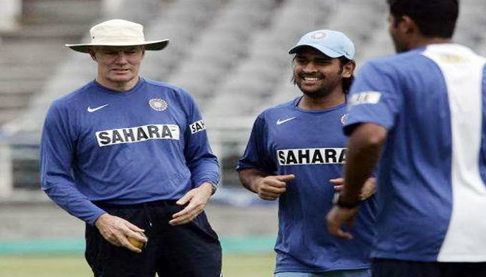 former cricketer Greg Chappell about MS Dhoni