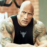 Hollywood actors Dwayne Johnson