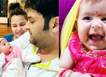 Kapil Sharma shares photo with daughter