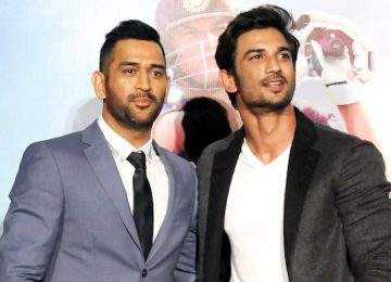 Fans shared Sushant-Dhoni's photos