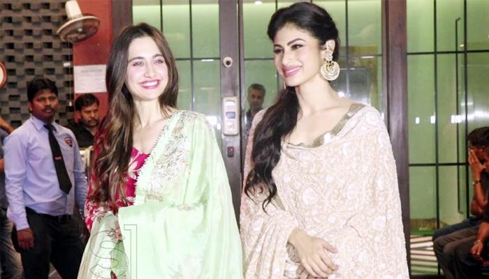 Sanjeeda Khan and Mouni Roy friendship again