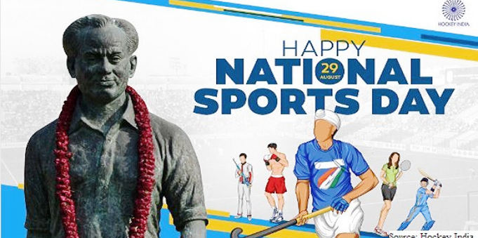 National Sports Day will be celebrated today