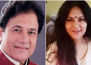 Arun Govil and Deepika Chikhaliya