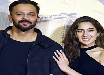 video of Rohit Shetty and Sara Ali Khan is going viral